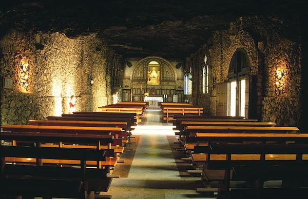 santuario virgen de la esperanza calasparra interior