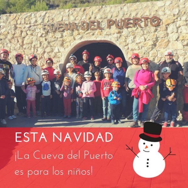 Promoción Esta Navidad, la cueva del puerto es para los niños