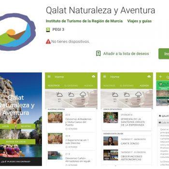 app qalat turismo región de murcia