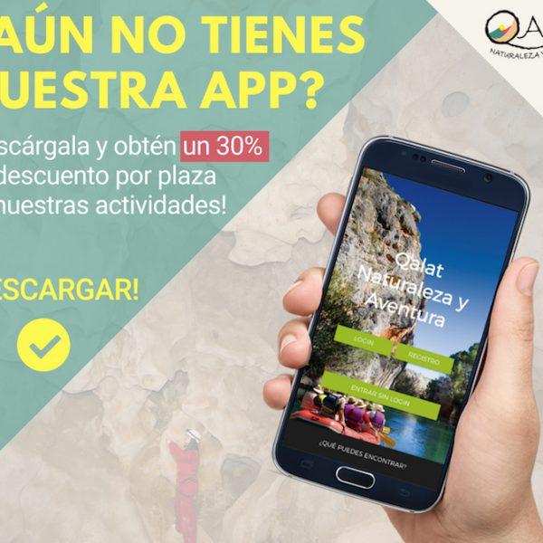 app movil qalat naturaleza y aventura